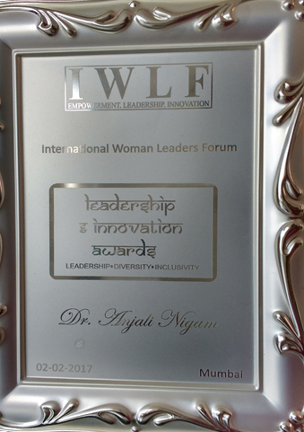 IWLF International Woman Leadership Award 2017